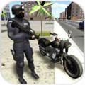 3D摩托追捕无限金币中文内购破解版(Moto Fighter 3D) v20170920