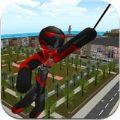 火柴人绳索英雄无限金币内购破解版(Stickman Rope Hero ) v1.2