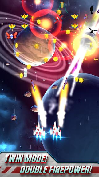 小蜜蜂战争无限金币内购破解版(Galaga Wars) v1.1