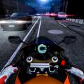 公路摩托车骑手游戏官方手机版(Highway motorbike rider) v1.0