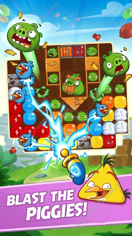 愤怒的小鸟爆破无限金币内购破解版(Angry Birds Blast) v1.2.8