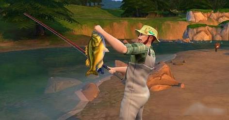 模拟人生4美丽生活钓鱼攻略[图]