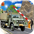 推动军队检查站卡车游戏