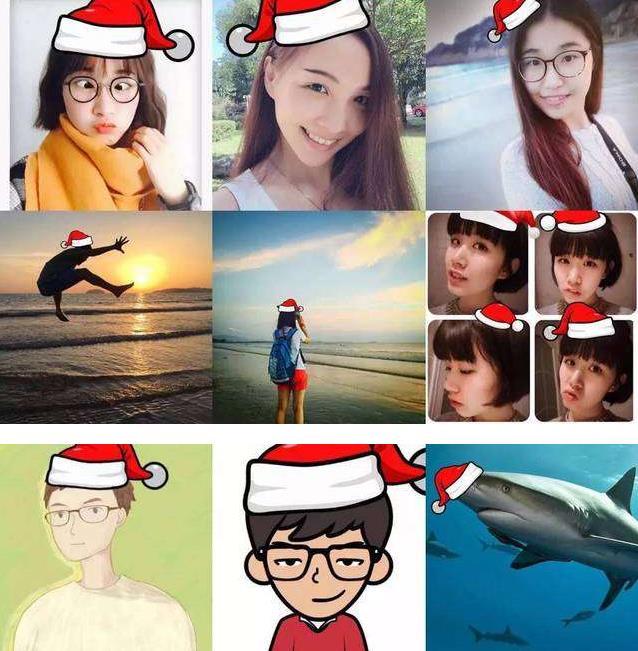 美图秀秀怎么p圣诞帽?美图秀秀圣诞帽素材分享[多图]