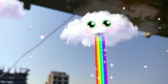 Snapchat风景滤镜怎么玩?别人家的云彩会吐彩虹怎么玩[图]