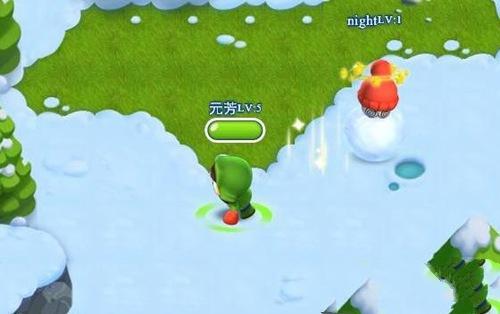 疯狂雪球H5腾讯首发 io趣味休闲竞技游戏[多图]