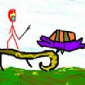 该死的梦游戏安卓版下载(Retropaint Stickman Hero) v0.0.4