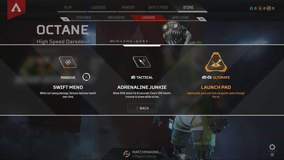 Apex英雄Octane辛烷技能属性及搭配攻略[多图]