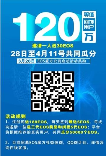 EOS魔方社区注册送币app下载图片2